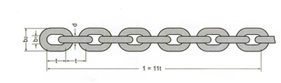 DIN 766 LINK CHAIN